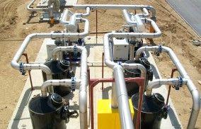 HDPE-Filter - Biogasreinigungsanlage